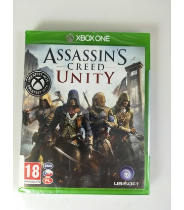 Gra na XBOX ONE: Assassin's Creed Unity Nowa! / Alojzjanów