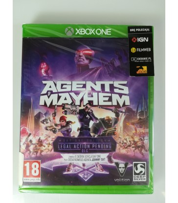 Gra na XBOX ONE:Agents of Mayhem Nowa!