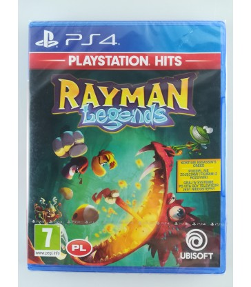 RAYMAN LEGENDS , PS4, Nowa ! / Alojzjanów
