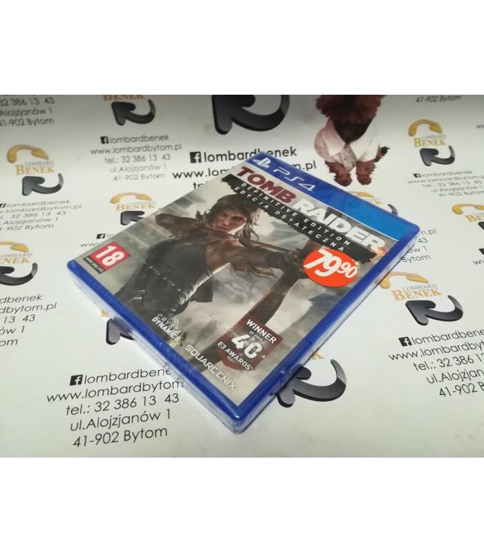 Gra Tomb Raider PL PS4 / Alojzjanów