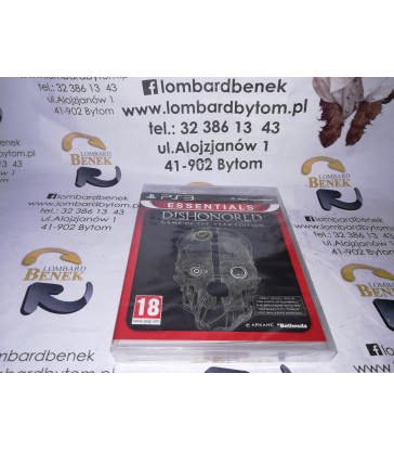 Gra Dishonored PS3 / Alojzjanów