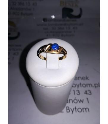 Pierścionek złoty, m: 1.2, p: 585 /Alojzjanów