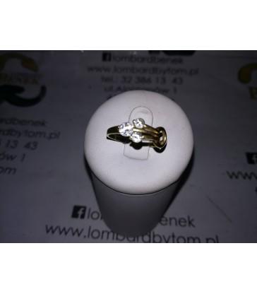 Pierścionek złoty, m: 1.9, r: 15, p: 585 /Alojzjanów