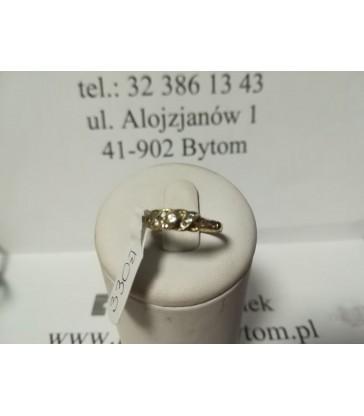 Złoty pierścionek m:2.6 r:16 p:585 /Alojzjanów