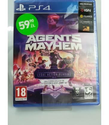 Gra na PS4: Agents Mayhem ! Nowa ! Zafoliowana!